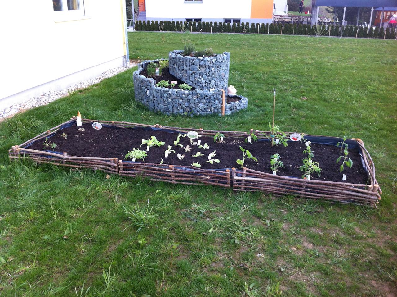 Beet-Bepflanzung
