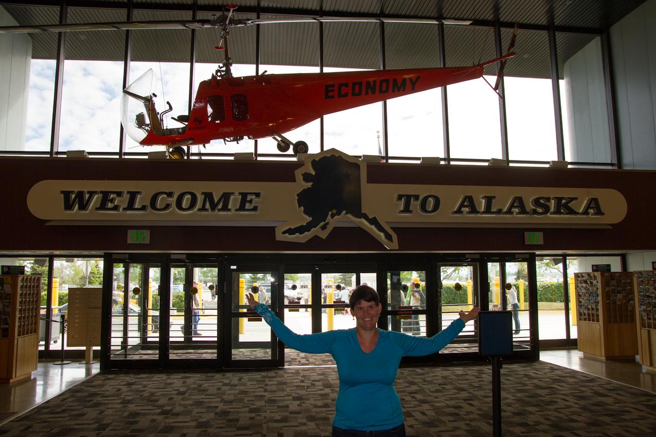 Alaska Tag 1 | Anreise / Anchorage