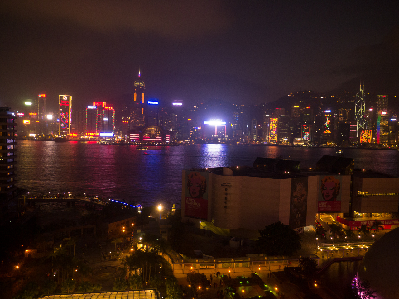 Hongkong – Tag 1: Anreise und Bummel durch die Harbour City