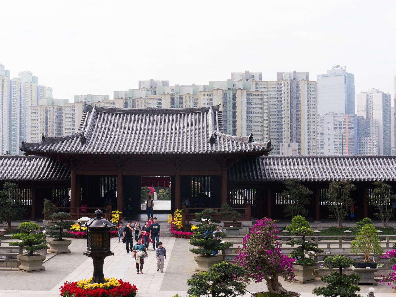Hongkong – Tag 3: Chi Lin Nunnery, Nan Lian Garden, Flower und Goldfish Market