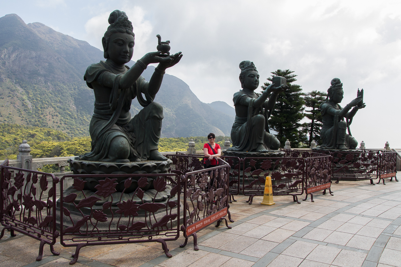 Hongkong – Tag 7: Ngong Ping, Tian Tan Buddha, Po Lin Monastery und Tai-O