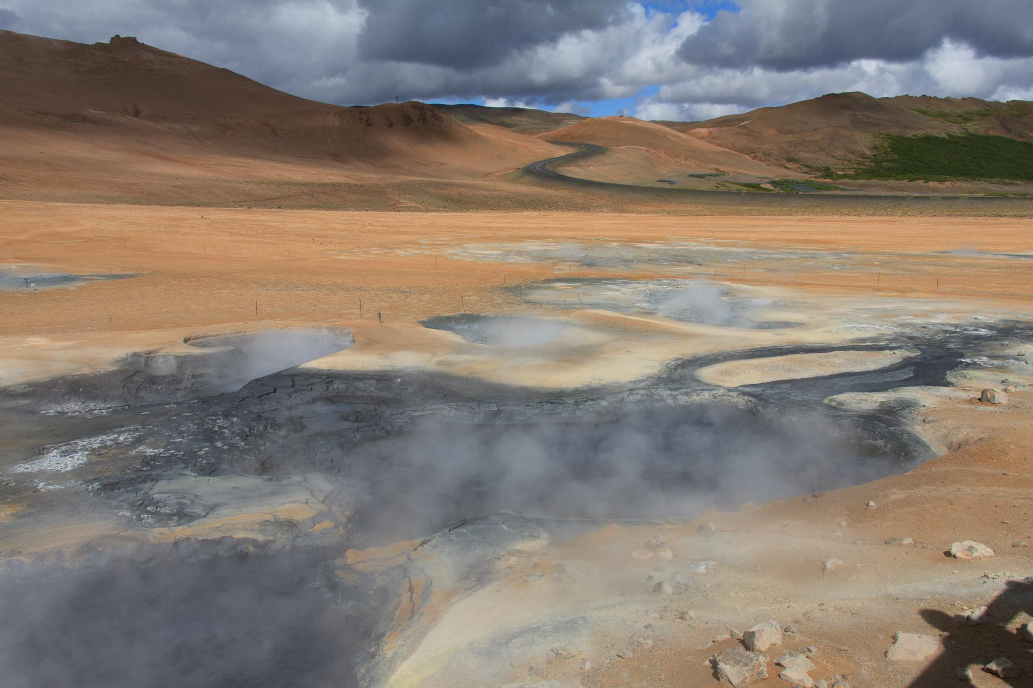 Island – Tag 6: Dettifoss, Krafla, Hverir, Grjótagjá, Hverfell, Dimmuborgir